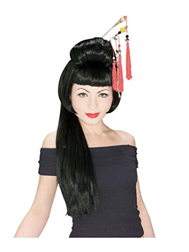 Rubie's China Girl Wig, Black, One Size