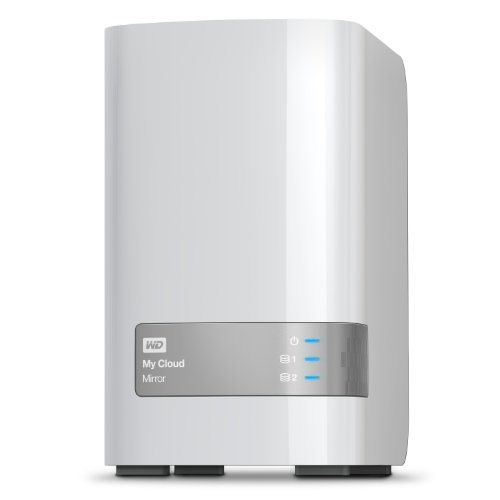 Western Digital My Cloud Mirror Gen 2 WDBWVZ0060JWT-EESN 6 TB Persönlicher Cloud Speicher