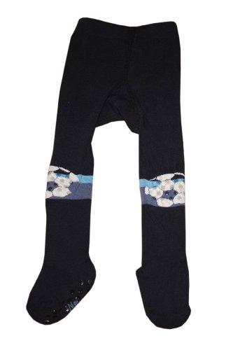 Weri Spezials Krabbelstrumpfhose mit ABS 'Fußball' Marine, Farbe:Marine, Größe:92/98