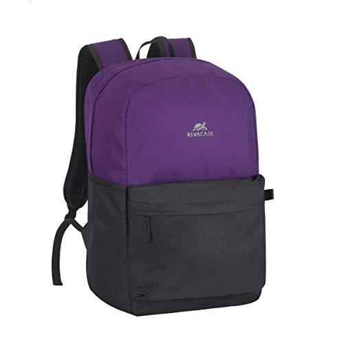 Rivacase ultraleichter Rucksack für Laptop 15,6 Zoll   Mehrzweck-Rucksack auch geeignet für das Fitnessstudio oder Kurztrips   Rucksack Uni Reisen Schulrucksack für Arbeit Schule