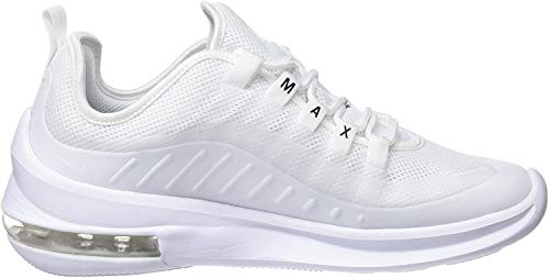 Nike Damen Air Max Axis Laufschuhe, Weiß White White Black 100, 38 EU