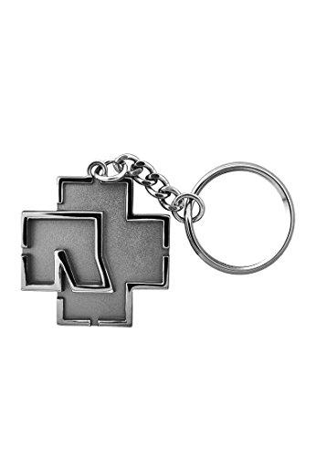 Rammstein - Schlüsselanhänger - Logo - Grau - Offizielles Band Merchandise