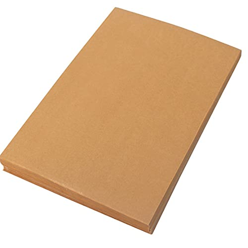 Fasmov Non-Stick Parchment Paper Baking Liner Sheets Pan liner, 11.8 x 15.7', 300 Count (Brown)