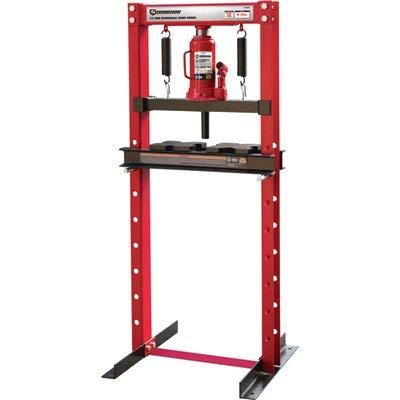 Strongway 12-Ton Hydraulic Shop Press