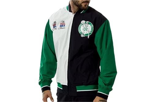 Mitchell & Ness NBA Boston Celtics Team History Warm Up 2.0 Chaqueta, Multicolor, Small