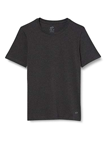 CARE OF by PUMA Camiseta Active para hombre, dark grey, L, Label: L