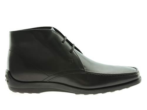 Tod´s Herren Schuhe Stiefeletten, Größe:39.5, Farbe:Schwarz