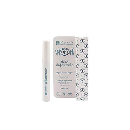 La Saponaria Siero Rinforzante Ciglia e Sopracciglia Strengthening Eyelash and Eyebrow Serum -10 ml-