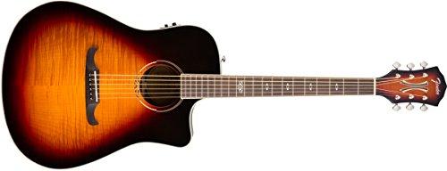 Fender 6 String T-Bucket 300-CE Acoustic Guitar-Rosewood Fingerboard-3-Color, 3-Color Sunburst (0968079021)