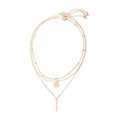 Collar mujer cadena oro 750 18k amarillo oro geométrico cadena 750 para mujer mujer mujer 10gr oro, 18K,