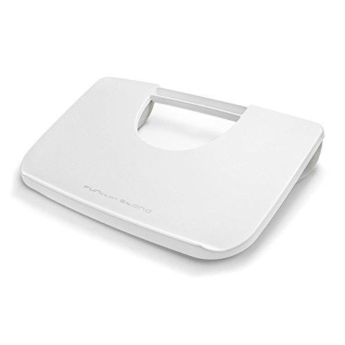 サンワダイレクト ひざ上テーブル ノートパソコン/タブレット用 ラップトップテーブル ホワイト 200-HUS005W
