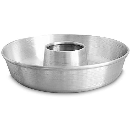 Aluminum Cake Ring Pan 112 in  Tube Pan for Baking Pound Cake  Tube Cake Pan  Cake Pan Tube  Fluted Tube Pan  Flan Mold  Flan Cake Pan  Flan Pan  Chiffon Cake Pan  Bundt Cake Pan