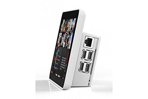 """Bundle Raspberry Pi 7"""" Touchscreen Display & Case [white]"""