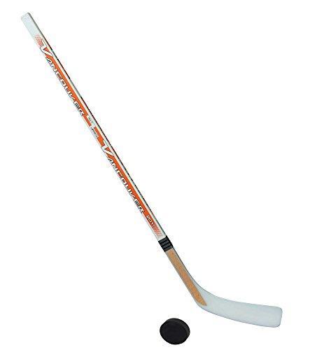 Unbekannt Eishockeyschläger-Set Junior 5: 1 Vancouver-Schläger 115cm gerade Kelle & Puck