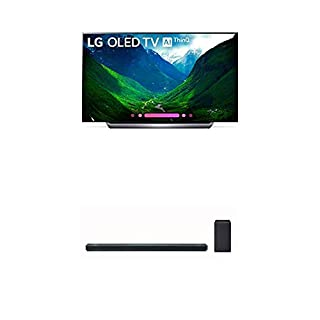 LG Electronics OLED77C8PUA 77-Inch 4K Ultra HD Smart OLED TV (2018 Model) Bundle with LG SK10Y 5.1.2 Channel Hi-Res Audio Sound Bar with Dolby Atmos (2018) (B07KR6VLSF) | Amazon price tracker / tracking, Amazon price history charts, Amazon price watches, Amazon price drop alerts