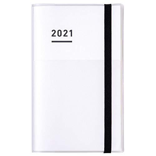 コクヨジブン手帳miniファーストキット手帳2021年B6スリムマンスリー&ウィークリーホワイトニ-JFM1W-212020年11月始まり