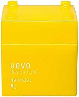 ウェーボ デザインキューブ (uevo design cube) ハードワックス 80g ヘアワックス 80グラム (x 1)