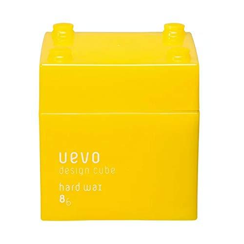 ウェーボ デザインキューブ (uevo design cube) ハードワックス 80g ヘアワックス
