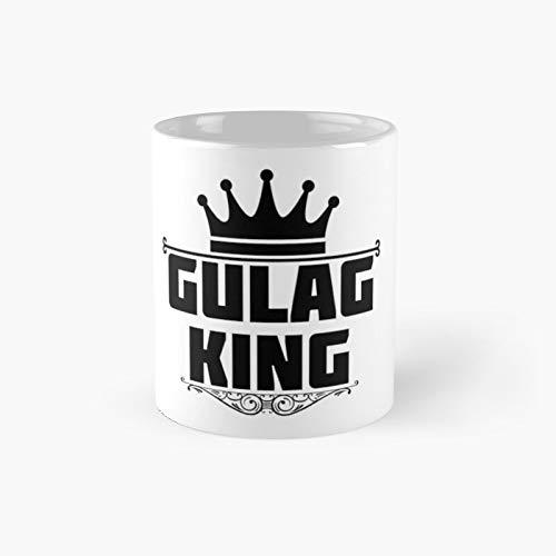 Tasse mit Gulag King Motiv, 325 ml