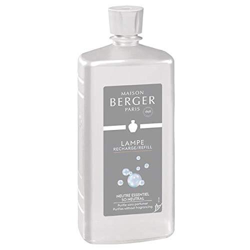 Lampe Berger 116012 Fragranza So Neutral, Liquido, Argento, 10 x 6.6 x 23.7 cm 1 unità