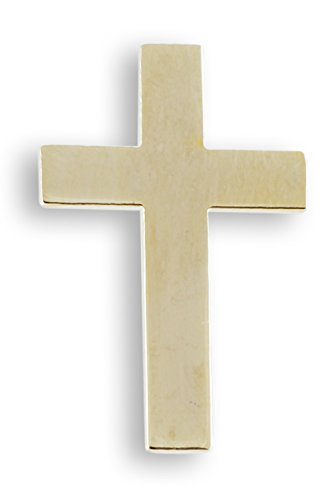 WIZARDPINS Cross Gold Plated Lapel Pin- Value Pack (5 pins)