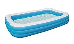 ein aufblasbarer pool nichts wie rein ins k hle na. Black Bedroom Furniture Sets. Home Design Ideas