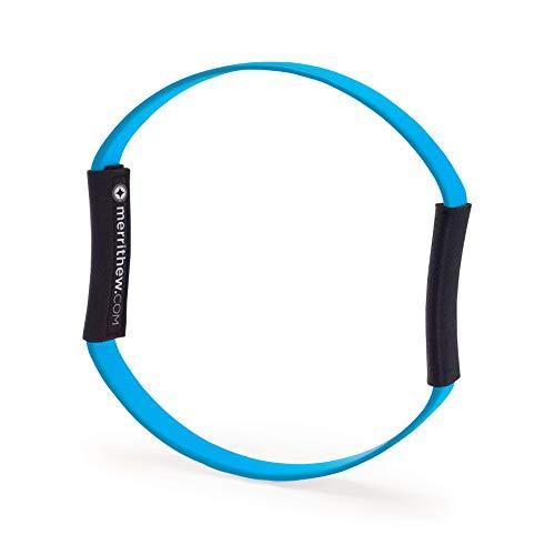 STOTT PILATES Fitness Circle Flex (Blue), 12 inch / 30.5 cm