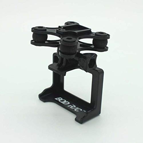 BlackEdragon RC Drone Kamerahalter Gimbal Mount Set für SYMA X8 X8C X8W X8G X8HC X8HW X8HG Schwarz