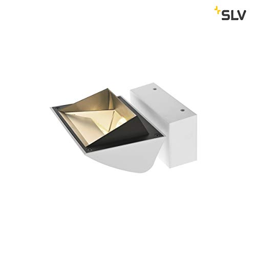 SLV MERADO Flood WL Applique murale d'intérieur LED en aluminium Blanc 4000 K 40 W