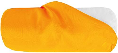 Bestlivings Bezug für Nackenrolle 15x40cm (BxL) Bezug in Orange, in vielen Farben