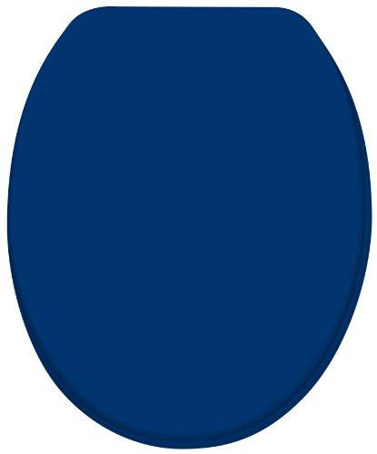Diaqua 31170078 WC Sitz Paris Slow Motion, MDF DSC 100 %, 42 bis 47 x 37.2 , marineblau