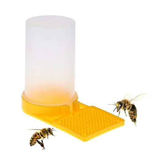Bienenzucht Bienenstock Imkerei Beehive Wasser Feeder Bee Trinken Nest Eingang Imker Schalen Werkzeug (Yellow)