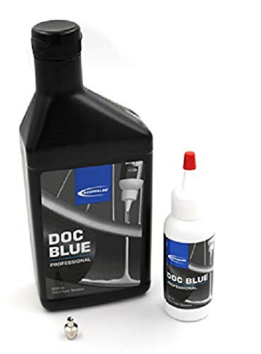 Schwalbe Unisex's Doc Blue Professional Tire + Tube Sealant, 500 ml
