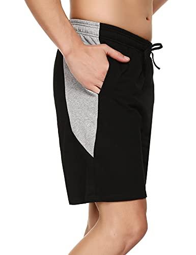 Doaraha Pantalones Cortos Deportivos para Hombre Pantalones Cortos Hombre Deporte Pantalones Cortos Verano para Correr Baloncesto y Fútbol