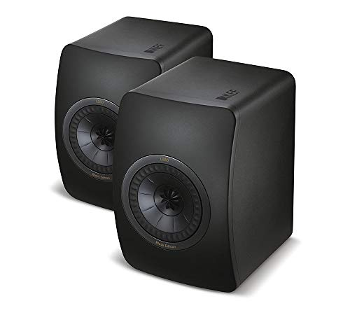 KEF Lautsprecher LS 50 Black Edition - All Black (Paar)