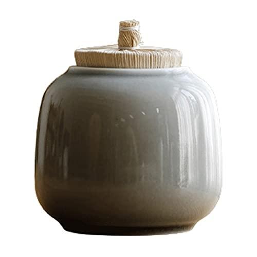 LIXIAOHONGG Urna Funeraria,Urna Cenizas Urnas,Mortales For Adulto Niño Mascota Urnas De Cremación Conmemoración Urnas De Entierro En Casa Cerámica Sellado Fuerte