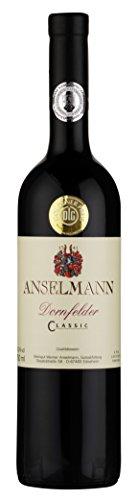 6 x Dornfelder Classic tr. 2019 Weingut Anselmann, trockener Rotwein aus der Pfalz
