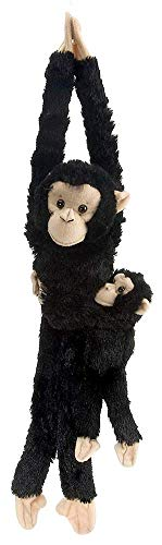 Wild Republic Chimpanzee w/baby plush,...