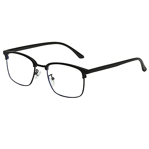Blaulichtfilter Brille,Bildschirm-Brille,Blaue Licht Blockieren Brille,Computerbrille,Verringerung der Augenbelastung, Anti blaulicht, TV Brille für Frauen Männer, Anti UV, Brille mit Blaulichtfilter