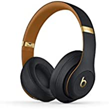 Beats Studio3 Wireless Noise Cancelling On-Ear Headphones - Apple W1 Headphone Chip, Class 1 Bluetooth, Active Noise Cancelling, 22 Hours Of Listening Time - Midnight Black
