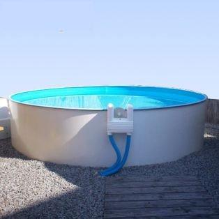 MY PERFECT POOL Poolfolie Innenhülle für Rundpool 3,50 x 0,9 m Folienstärke 0,25 mm blau Rundbecken