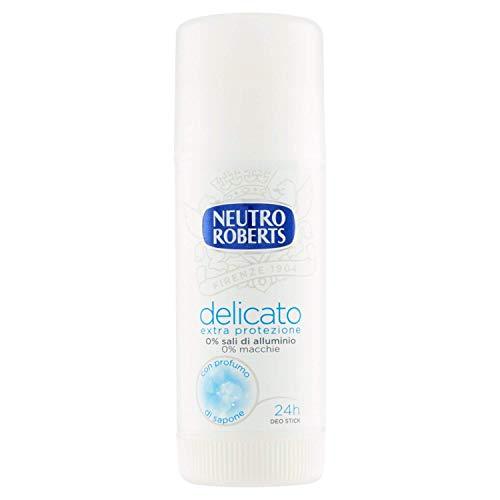 Neutro Roberts Deodorante Stick Delicato Extra Protezione - 40 gr