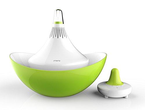 Miro CP01 CleanPot Luftbefeuchter 100% hygienisch ohne Filter, keimfrei mit Ultraschall-Technologie, 90% weniger Stromverbrauch, IF Design Award Winner