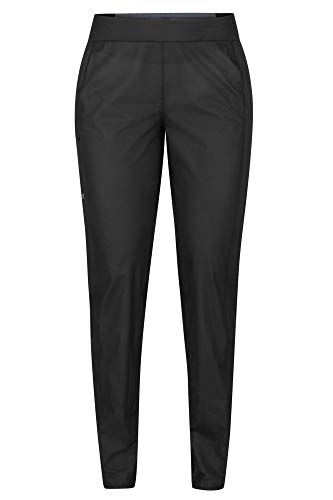 Marmot Wm's Bantamweight Pant Pantalon Imperméable, Pantalon étanche Femme, Pluie, Coupe Vent, Respirant Femme Black FR: XS (Taille Fabricant: XS)