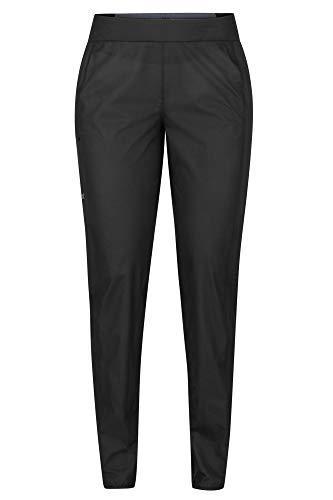 Marmot Wm's Bantamweight Pant imperméable, Pantalon étanche Femme, Pluie, Coupe Vent, Respirant, Black, FR : M (Taille Fabricant : M)