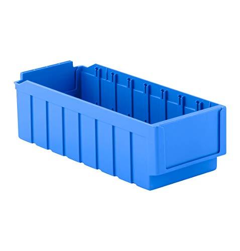 SSI Schäfer Regalkasten Regalkasten Lagerkasten, Blau, RK 421, 8 Fächer