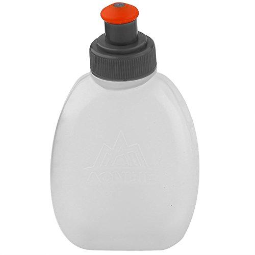 Bottiglie d'Acqua per l'Esecuzione di Cintura di Idratazione, BPA-Free Borraccia da Sport in Plastica a prova di Perdite, Pratica per Lunchbox o Zaini(250ml) borraccia aramox
