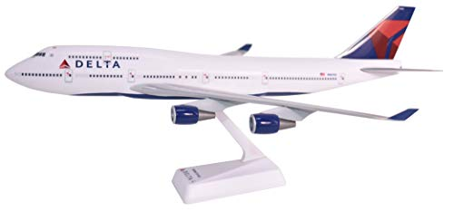 Delta (07-Cur) Boeing 747-400 Airplane Miniature Model Snap Fit 1:200 Part#ABO-74740H-019