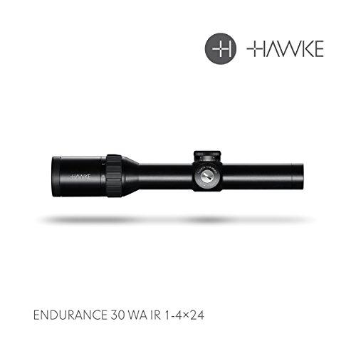 Hawke Endurance 30 WA 1-4x24 Tactical Dot Model 2018 Zielfernrohr, schwarz, M