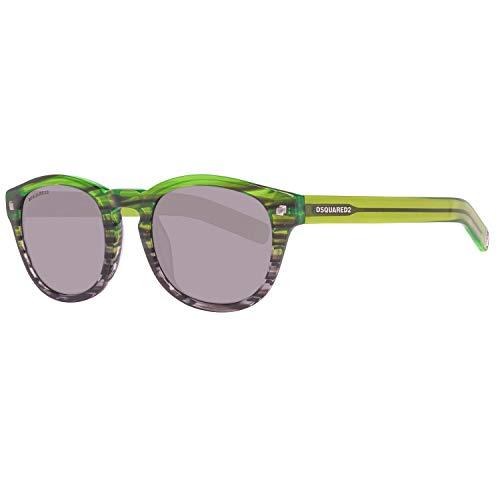 DSQUARED2 Sonnenbrille Dq0187 95a 49 Gafas de sol 49.0 Unisex Adulto Verde Gr/ün